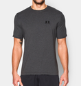 Under Armour Men's UA Charged Cotton Sportstyle T-Shirt - Carbon Heather/Black