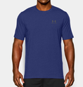 Under Armour Men's UA Charged Cotton Sportstyle T-Shirt - Royal/Steel
