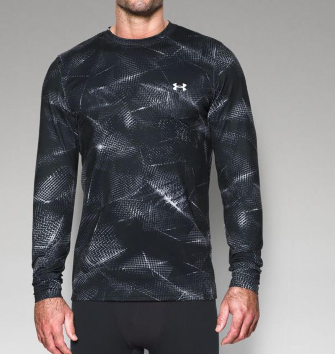 ce5644c92a1 Under Armour Men s UA ColdGear Armour Printed Shirt - The Warming Store