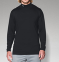 Under Armour Men's UA ColdGear Infrared Fitted Mock Shirt