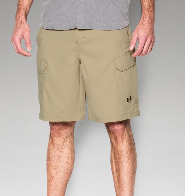 under armour mens shorts heat gear under armour mens ua fish hunter cargo short enamelsaddle the warming store