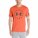 Under Armour Men's UA Freedom T-Shirt - Rocket Red/Black