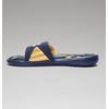 Under Armour Men's UA Ignite Banshee II Slides - Midnight Navy/Metallic Gold/Metallic Silver