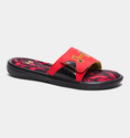 Under Armour Men's UA Ignite Banshee II Slides - Red/Taxi/Black