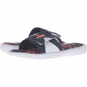 Under Armour Men's UA Ignite Banshee II Slides - White/Midnight Navy/Team Orange