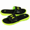 Under Armour Men's UA Ignite Slides - Black/High/Vis Yellow