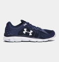 Under Armour Men's UA Micro G Assert 6 Running Shoes - Midnight Navy/White/White