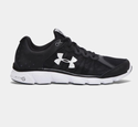 Under Armour Men's UA Micro G Assert 6 Running Shoes - Black/White/White
