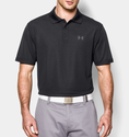Under Armour Men's UA Performance Polo Shirt - Black/Steel