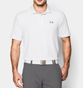 Under Armour Men's UA Performance Polo Shirt - White/Steel