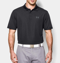 Under Armour Men's UA Performance Polo Shirt - Red/White