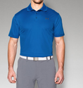Under Armour Men's UA Performance Polo Shirt - Ultra Blue/Stealth Gray