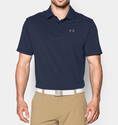 Under Armour Men's UA Playoff Polo Shirt - Academy/Steel/Steel