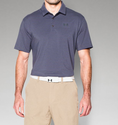 Under Armour Men's UA Playoff Polo Shirt - Monarchy/Carbon Heather/Stealth Gray