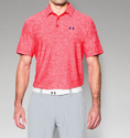 Under Armour Men's UA Playoff Polo Shirt - Rocket Red/Rocket Red/Fire