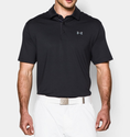 Under Armour Men's UA Playoff Polo Shirt - Slate Blue/Rocket Red/Steel