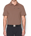 Under Armour Men's UA Playoff Polo Shirt - Stealth Gray/Beta Orange/Stealth Gray