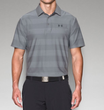 Under Armour Men's UA Playoff Polo Shirt - Steel/Stealth Gray/Stealth Gray