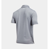 Under Armour Men's UA Playoff Polo Shirt - True Gray Heather/White/White