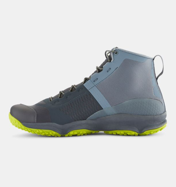 Under Armour Men's UA SpeedFit Hike Boots - Gravel/Stealth Gray/Velocity -  The Warming Store