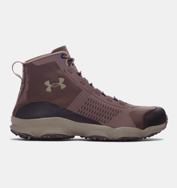 2f8bc8446cda Under Armour Men s UA SpeedFit Hike Boots - Maverick Brown Stoneleigh  Taupe Stoneleigh Taupe