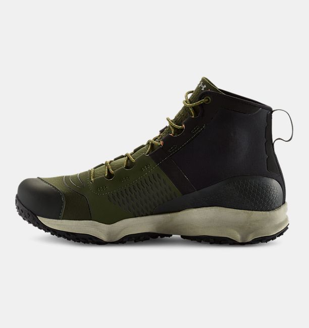 Under Armour Men's UA SpeedFit Hike Boots - Rifle Green/Black/Stone - The  Warming Store