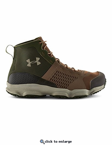 Under Armour Men's UA SpeedFit Hike Boots - Uniform/Rifle Green/Texas Orange