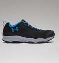 Under Armour Men's UA SpeedFit Hike Low Boots - Black/Steel/Red