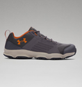Under Armour Men's UA SpeedFit Hike Low Boots - Charcoal/Dune/Texas Orange