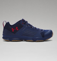 Under Armour Men's UA SpeedFit Hike Low Boots - Midnight Navy/Saddle/Cardinal
