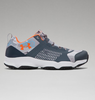 Under Armour Men's UA SpeedFit Hike Low Boots - Ridge Reaper Camo Hydro/Stealth Gray/Toxic
