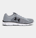 Under Armour Men's UA Micro G Assert 6 Running Shoes - Steel/White/Black