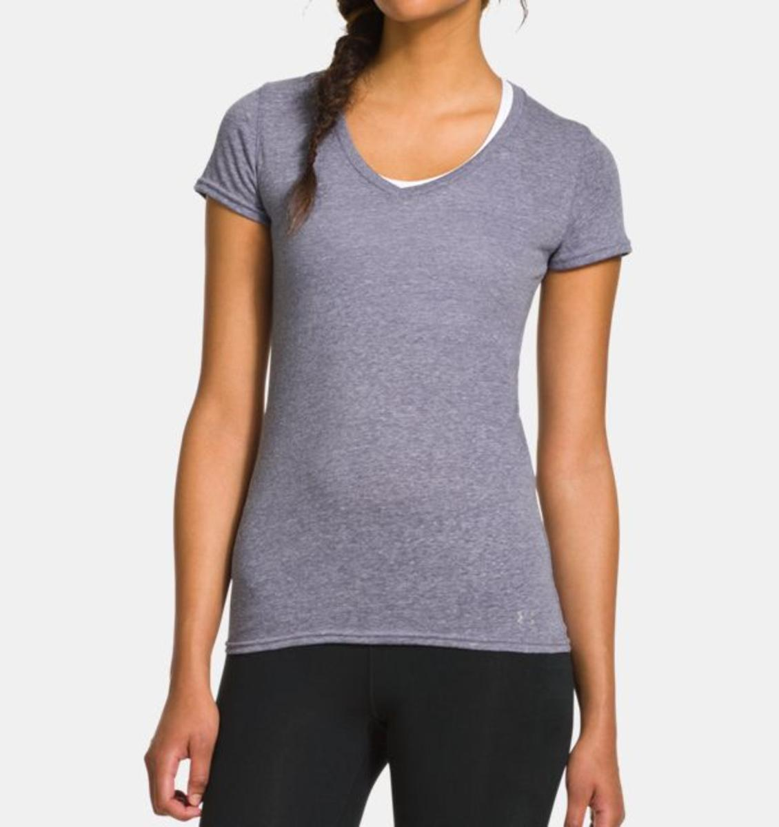 Under Armour Womens Ua Charged Cotton Undeniable T-shirt