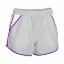 Under Armour Women's UA Fly-By Run Short - Elemental/Mega Magenta/Reflective