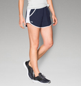 Under Armour Women's UA Fly-By Run Short - Midnight Navy/White/Reflective