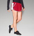 Under Armour Women's UA Fly-By Run Short - Red/White/Reflective