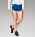 Under Armour Women's UA Fly-By Run Short - Royal/White/Reflective