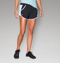 Under Armour Women's UA Fly-By Run Short - White/Mega Magenta/Reflective