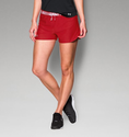 Under Armour Women's UA Play Up Short - Red/Red/Metallic Silver