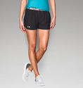 Under Armour Women's UA Play Up Short - Stealth Gray/Brilliance/Brilliance