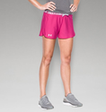Under Armour Women's UA Play Up Short - Tropic Pink/Tropic Pink/White