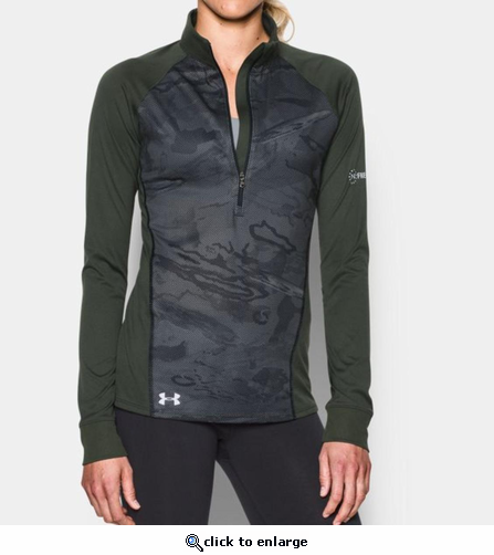 Under Armour Women's UA Tech Freedom 1/2 Zip Shirt