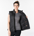 Venture Heat Women's Heated Puffer Vest - 5V USB Power Bank