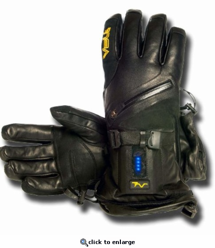 Volt Titan 7V Waterproof Leather Heated Gloves for Women