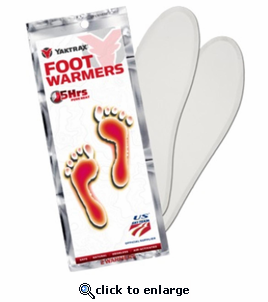 YakTrax Foot Warmer Insoles - 20 Pack