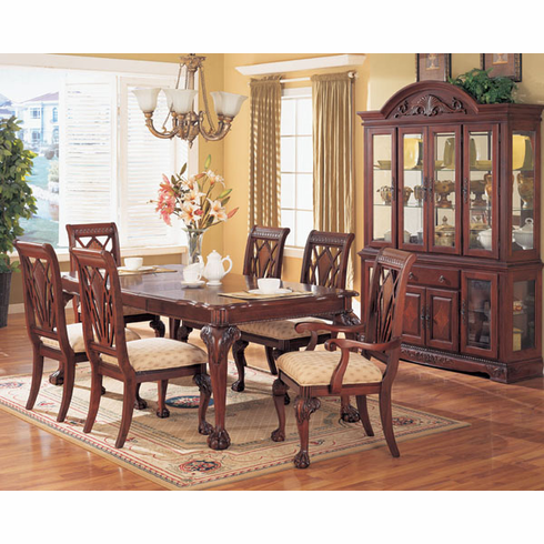 BROWN CHERRY DINETTE 7PCS/ SET