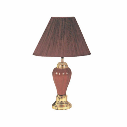 Burgundy Porcelain Lamp (2pcs/ Each is $15.00)