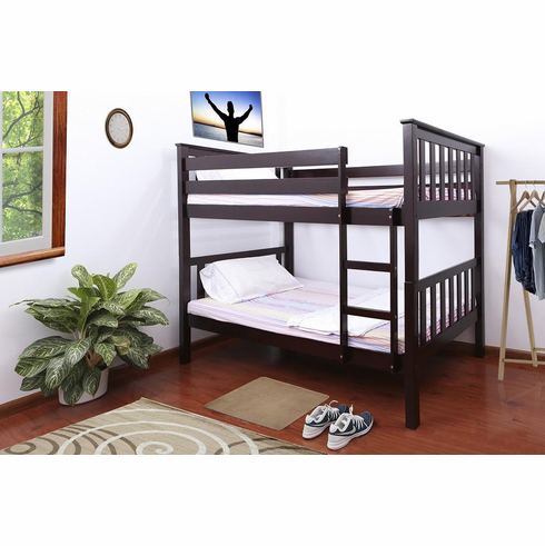 CAPPUCCINO BUNK BED DIVISIBLE TO 2 BEDS