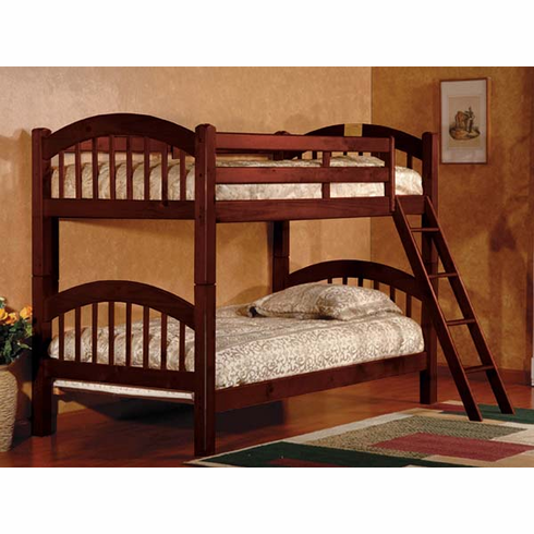 Cherry Arch bunk bed divisible to 2 beds