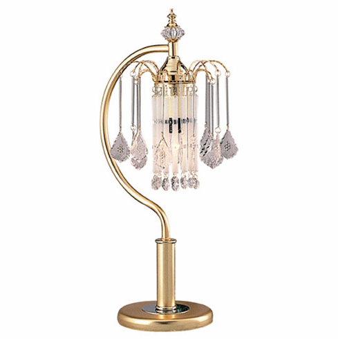 French Gold Finished Chandelier Touch Lamp (2pcs/ each is $27.50/each)